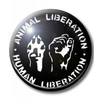 ANIMAL LIBERATION BUTTON