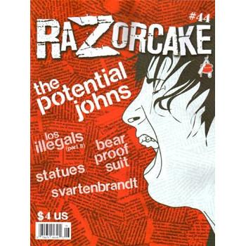 RAZORCAKE N°44 MAY/JUNE 2008