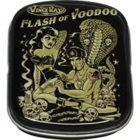 SMALL METAL BOX VINCE RAY FLASH OF VOODOO