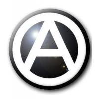 BADGE A CERCLÉ ANARCHISTE