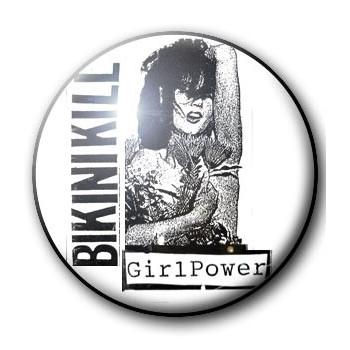 BADGE BIKINI KILL (2) GIRL POWER