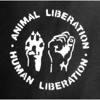 PATCH ANIMAL LIBERATION - HUMAN LIBERATION