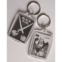 PORTE CLEFS BLACK FLAG