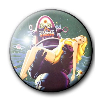 BADGE ROBBY LE ROBOT