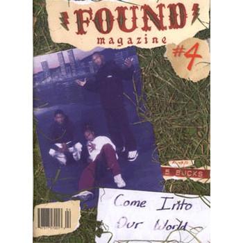 FOUND MAGAZINE N°4 SEPTEMBER 2005