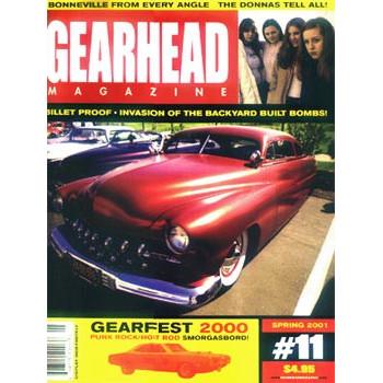 GEARHEAD N°11 SPRING 2001