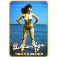 JEU DE CARTES BETTIE PAGE