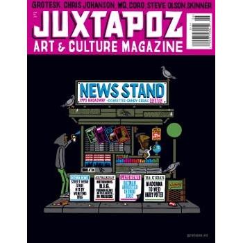JUXTAPOZ N°101 JUNE 2009