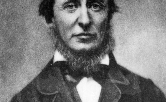 Henry David Thoreau (1817 - 1862), American essayist and poet.  Original Publication: People Disc - HM0486   (Photo by Hulton Archive/Getty Images)