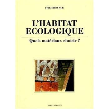 L'HABITAT ECOLOGIQUE