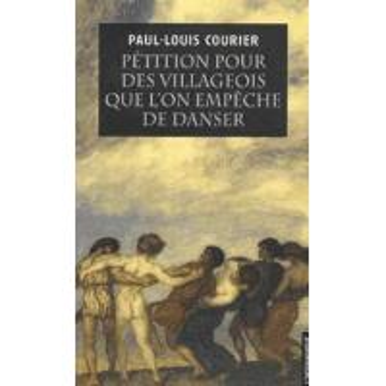 PETITION POUR DES VILLAGEOIS QUE L'ON EMPECHE DE DANSER