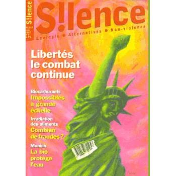 SILENCE - LOT DE 3 REVUES (345/346/347)