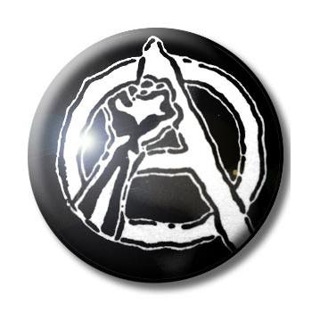 BADGE ANARCHIE - POING