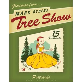 TREE SHOW POSTCARD MICROPORTFOLIO