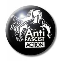 ANTI FASCIST ACTION BUTTON