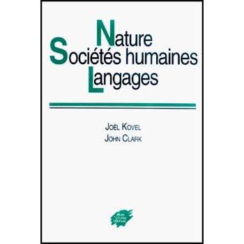 NATURE, SOCIETES HUMAINES, LANGAGES