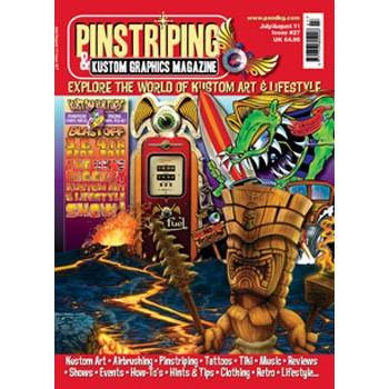 PINSTRIPING & KUSTOM GRAPHICS MAGAZINE N°27 JUL/AUG 2011