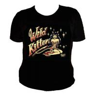 "T-SHIRT VINCE RAY ""WILD KITTEN"""