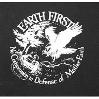 PATCH EARTH FIRST - NO COMPROMISE IN DEFENSE OF MOTHER EARTH
