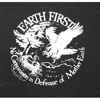 PATCH EARTHFIRST - NOCOMPROMISE IN DEFENSE OF MOTHER EARTH