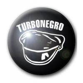 BADGE TURBO NEGRO