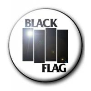 BADGE BLACK FLAG (BARRES NOIRES)