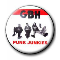 BADGE GBH (PUNK JUNKIES)