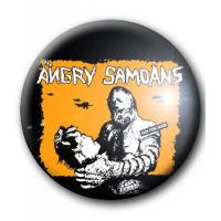 BADGE ANGRY SAMOANS