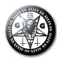 BADGE GG ALLIN (WAR IN MY HEAD)