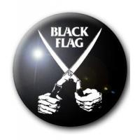 BADGE BLACK FLAG (2) (EVERYTHING WENT BLACK)