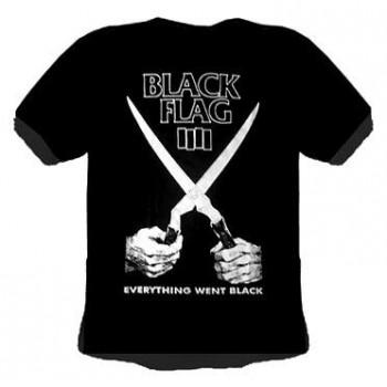 T-SHIRT BLACK FLAG