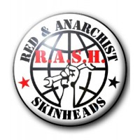 BADGE RED AND ANARCHIST SKINHEADS - RASH (1)