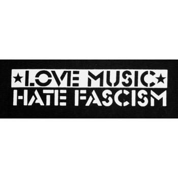PATCH LOVE MUSIC HATE FASCISM