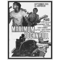 MAXIMUM ROCKNROLL N°388 SEPT 2015