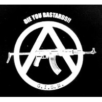 PATCH G.I.S.M (DIE YOU BASTARDS)
