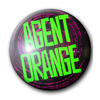 BADGE AGENT ORANGE