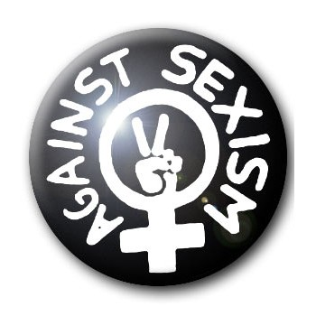 BADGE AGAINST SEXISM