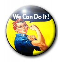 BADGE WE CAN DO IT