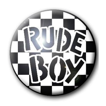 BADGE RUDE BOY
