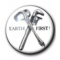BADGE EARTH FIRST