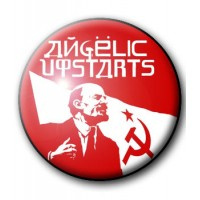 BADGE ANGELIC UPSTARTS