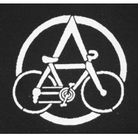 PATCH ANARCHO BIKE - VELORUTION NOIR