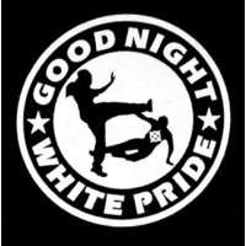PATCH GOOD NIGHT WHITE PRIDE NOIR