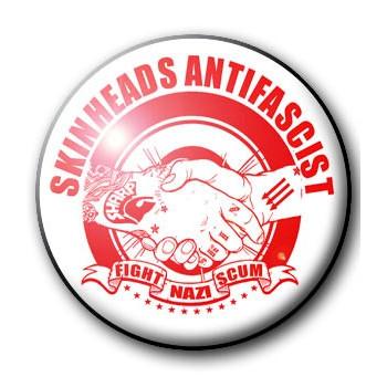 BADGE SKINHEADS ANTIFASCIST