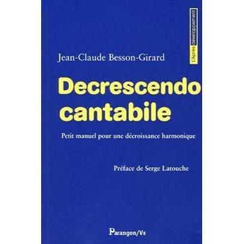 DECRESCENDO CANTABILE