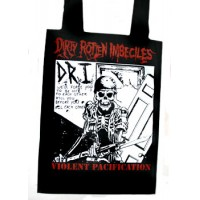 TOTE BAG D.R.I VIOLENT PACIFICATION