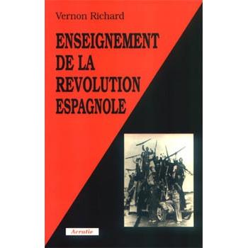 LIVRE ENSEIGNEMENT DE LA REVOLUTION ESPAGNOLE