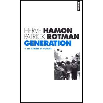 LIVRE GENERATION - LES ANNEES DE POUDRE