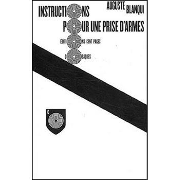 LIVRE INSTRUCTIONS POUR UNE PRISE D'ARMES