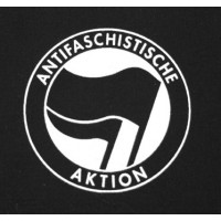 PATCH ANTIFASCHISTISCHE AKTION - FLAGS